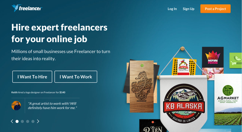 best online freelance jobs