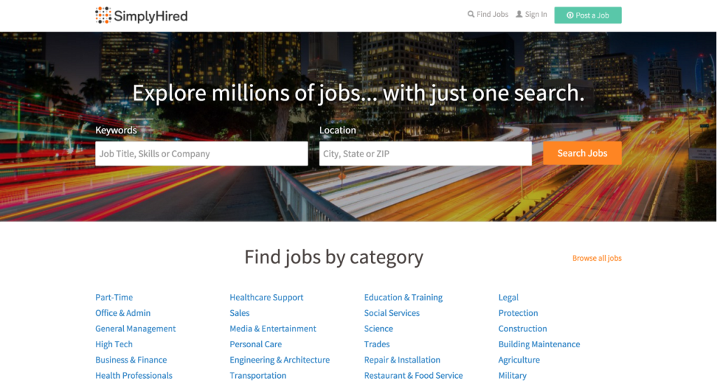 Freelance Site - simplyhired.com