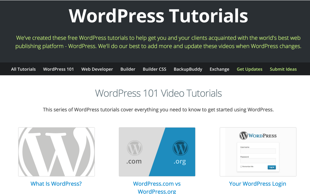 ithemes-wordpress-101-wordpress-tutorials