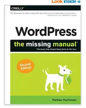 WordPress - The Missing Manual - Best WordPress Tutorial