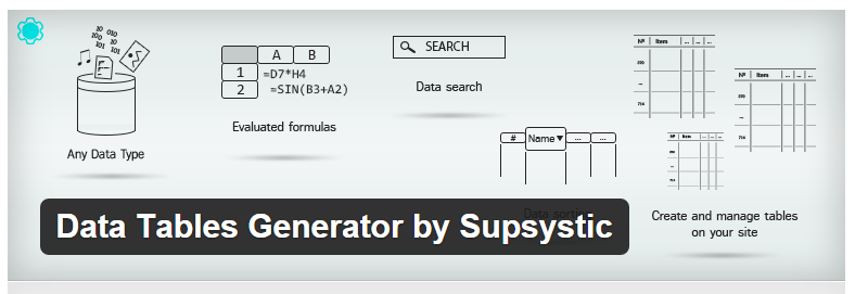 data-tables-generator