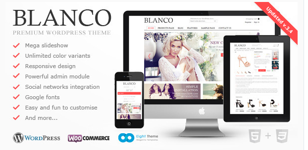 Blanco - Best Ecommerce WordPress Theme