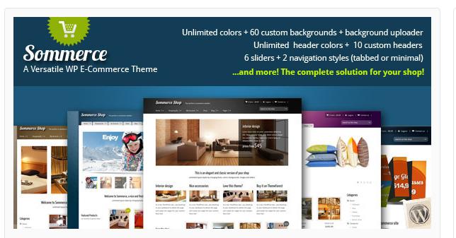 Sommerce - Best Ecommerce WordPress Theme