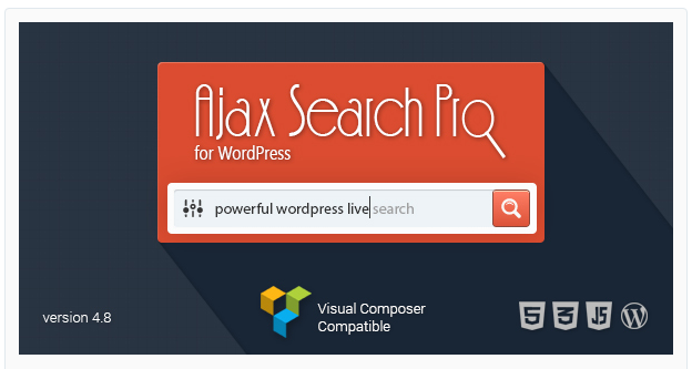 AJAX Search Pro - WordPress Search Plugin