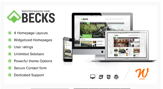 Becks - WordPress Magazine Theme