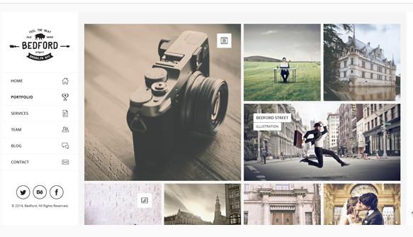 Bedford - Best WordPress Portfolio Theme