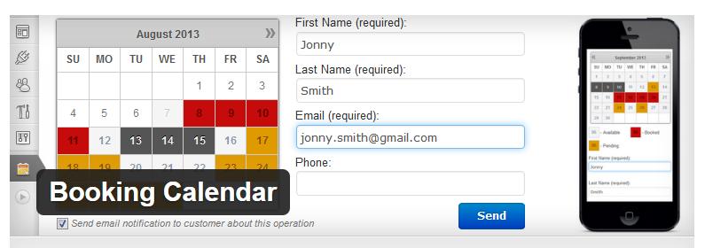 Booking Calendar - Best WordPress Booking Plugins