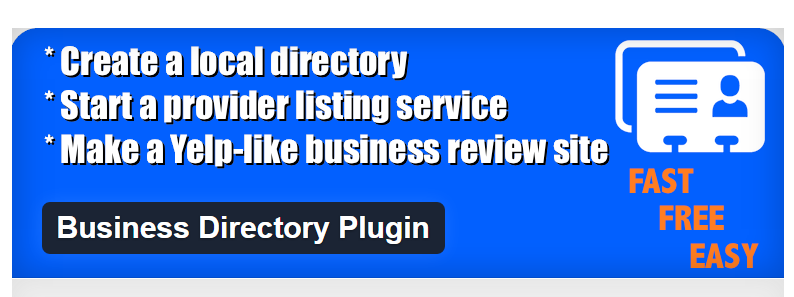 Business Directory Plugin WordPress