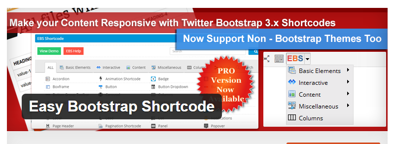 Easy Bootstrap Shortcodes - Best WordPress Shortcode Plugin