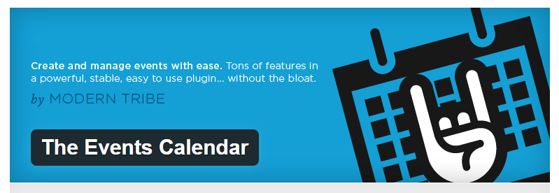 The Event Calender - Best WordPress Events Plugins