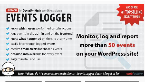 Event Logger - WordPress Security Plugin