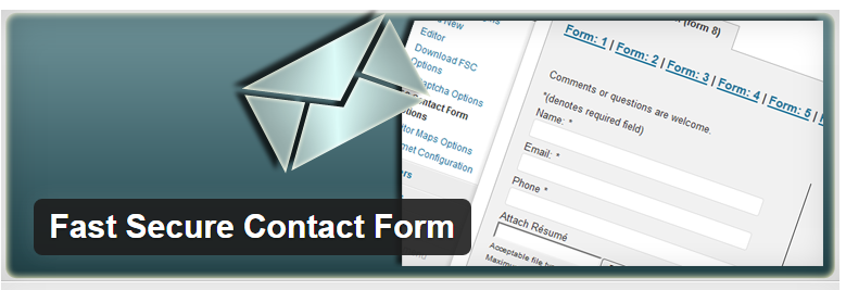 Fast Secure Contact Form - WordPress Contact Form Plugin