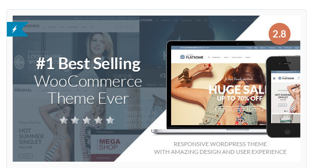 Flatsome - Best Premium Ecommerce WordPress Themes
