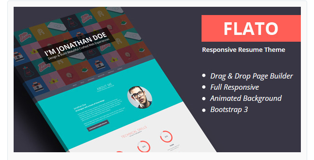 Flato - Best Premium Responsive WordPress Theme