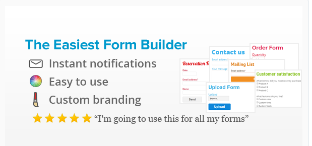 The Easiest Form Builder - WordPress Survey Plugin