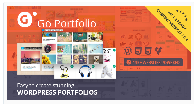 go-portfolio WordPress Gallery Plugin