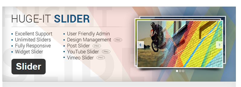 Huge-IT Slider - Best Slider WordPress Plugins