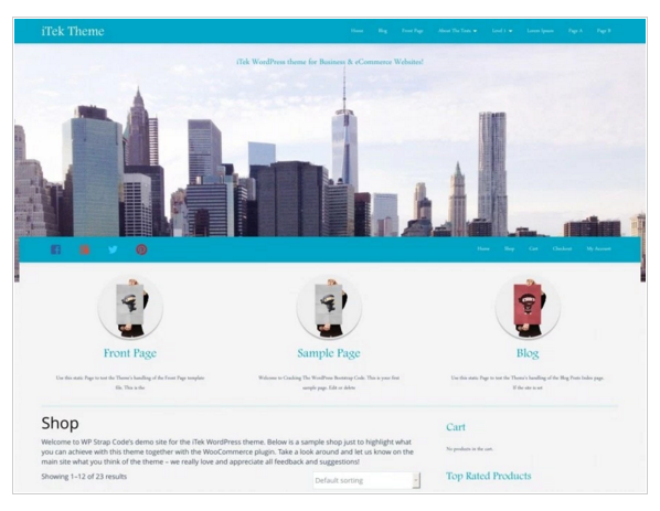 iTek - Best eCommerce WordPress Themes