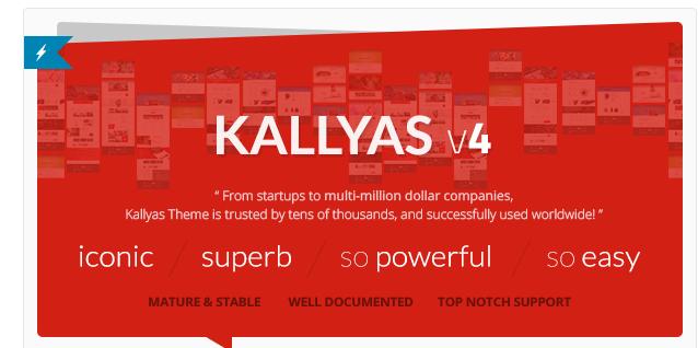 Kallyas - Best Premium Ecommerce WordPress Themes