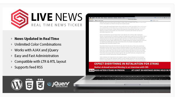 Live News - WordPress News Plugin