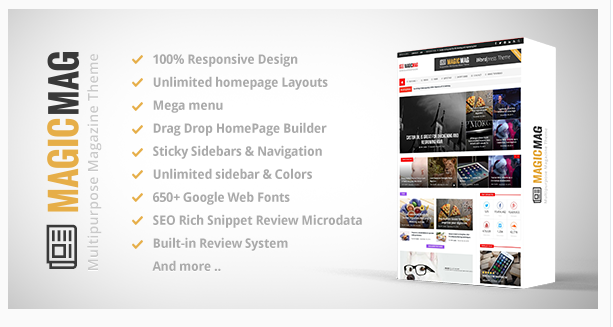 Magic - WordPress Magazine Theme