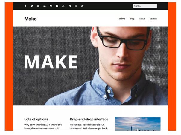 Make - Best Free eCommerce WordPress Themes