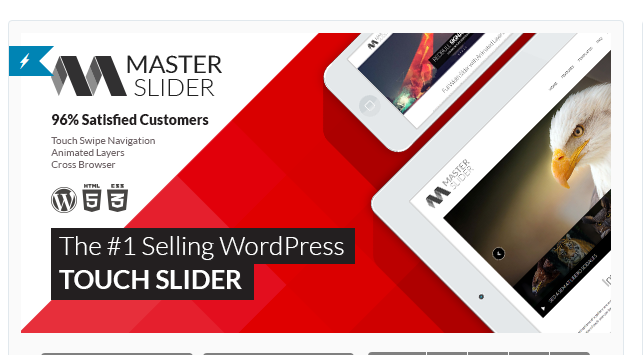 Master Slider - Slider WordPress Plugin