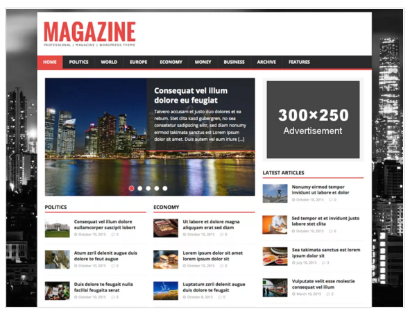 MH Magazine Lite - Best WordPress Magazine Themes