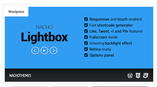 Nacho Lightbox - WordPress Lightbox Plugin