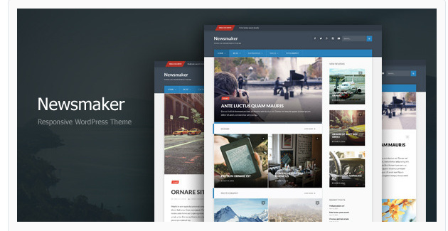 Newsmaker - WordPress Magazine Theme