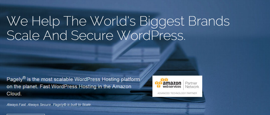 Pagely - Best WordPress Web Hosting