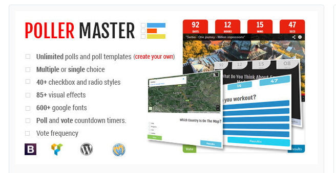 Poller Master - WordPress Poll Plugin