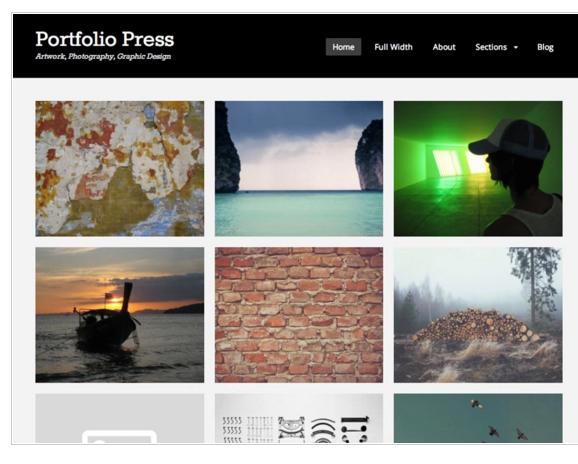 Portfolio Press - Best WordPress Portfolio Theme