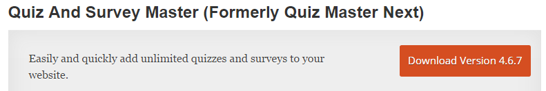 Quiz Master Next - Best WordPress Survey Plugin