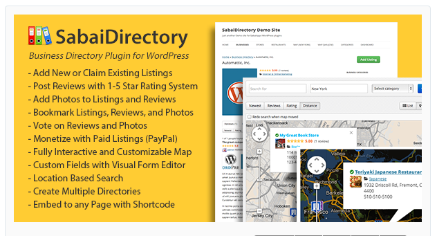 Sabai Directory - Best WordPress Directory Plugin