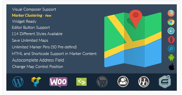 SM Multilingual Google Maps - Best WordPress Map Plugin
