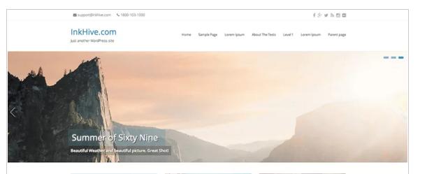 Seller - Free eCommerce WordPress Themes