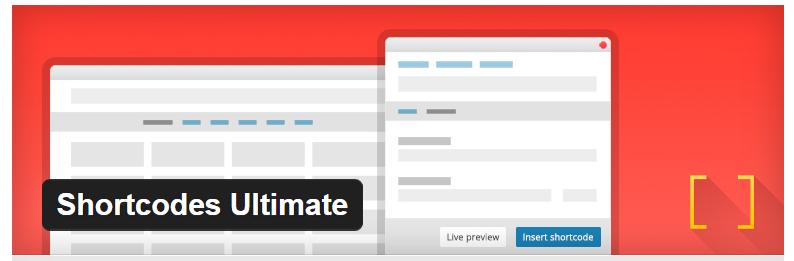 Shortcodes Ultimate - Best WordPress Shortcode Plugin