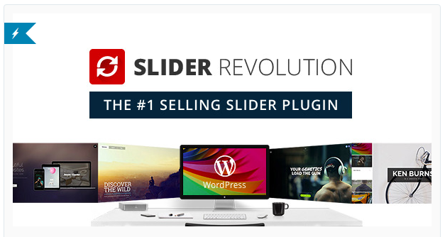 Slider Revolution - Slider WordPress Plugin