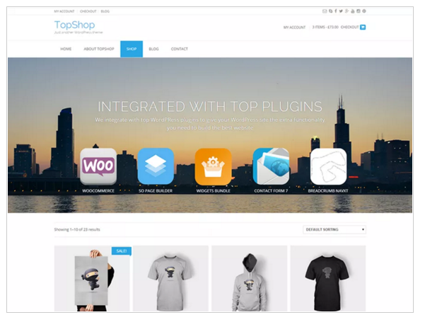 TopShop - Best eCommerce WordPress Theme