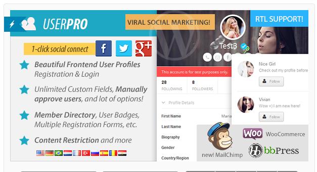 UserPro - Social Users Directory