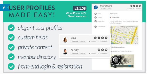 User Profiles Made Easy - WordPress Registration Plugin