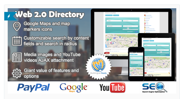 Web 2.0 Directory - Business Directory Plugin