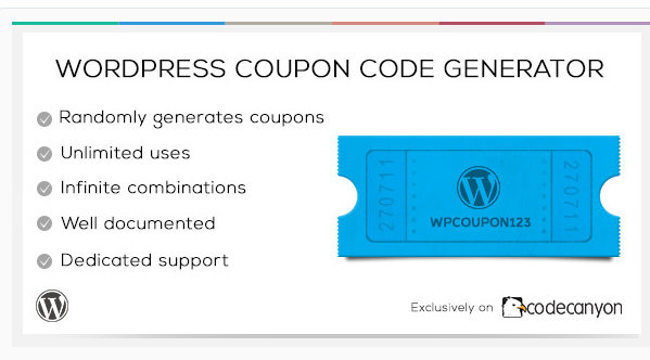 WordPress Coupon Code Generator - Coupon WordPress Plugin