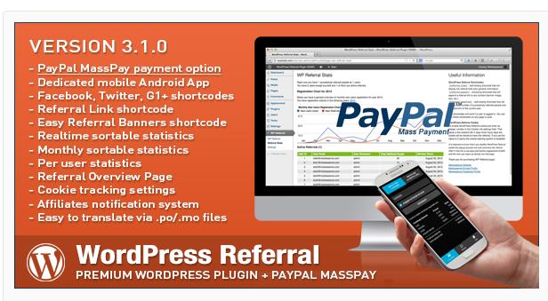 WordPress Referral - Best WordPress Affiliate Plugin