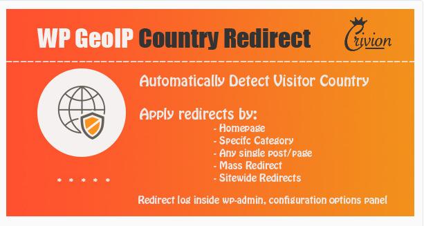 WordPress GeoIP Country Redirect - WordPress Redirect Plugin
