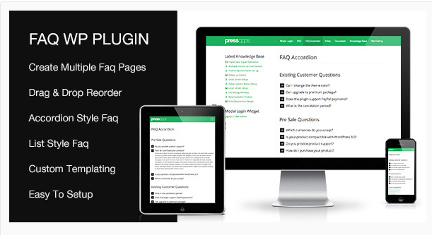 FAQ WP Plugin - WordPress FAQ Plugin
