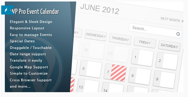 WP Pro Event Calender - WordPress Events Plugins