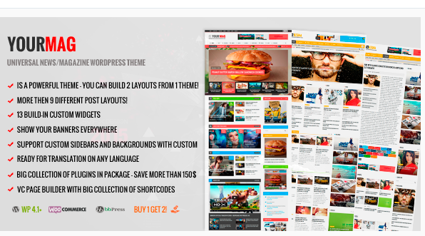 YourMag - Best WordPress Magazine Theme