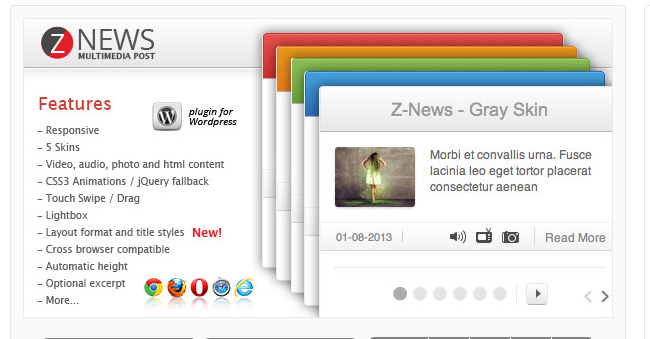Z News - WordPress News Plugin